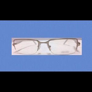 Prada Glasses Rimless Metal Frame Men's 1990s